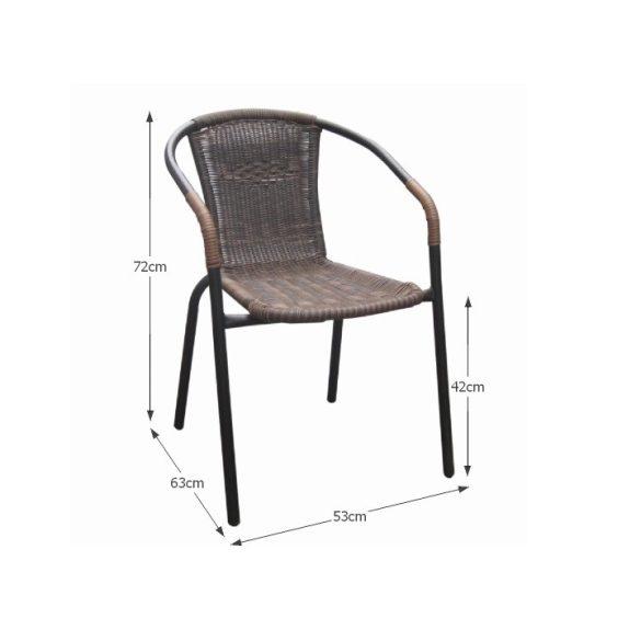 TK - DOREN kültéri szék