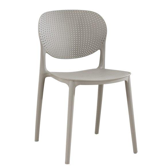 Fedra szürke műanyag szék