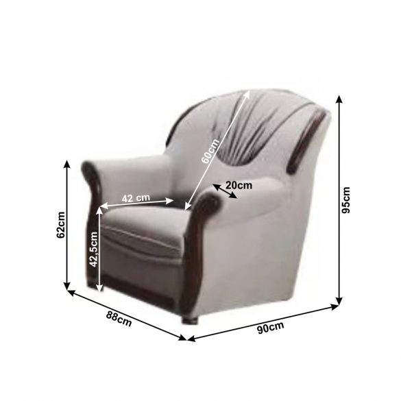 TK - Mety 3+1+1 ülőgarnitúra