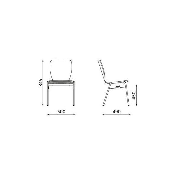 T - Wing szék